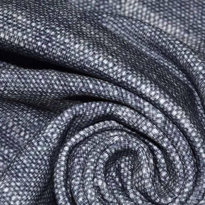 Jersey, bombaž, digital, jeans, 23505-21A, modra