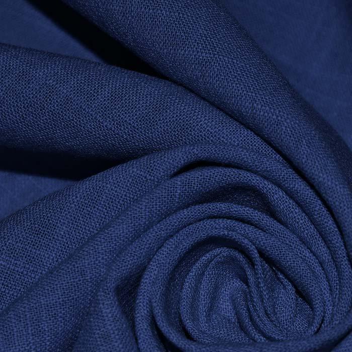 Bombaž, tanek, mečkanka, 4850-20, temno modra