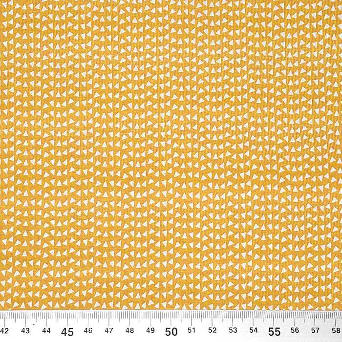 Jersey, bombaž, geometrijski, 23811-08, oker