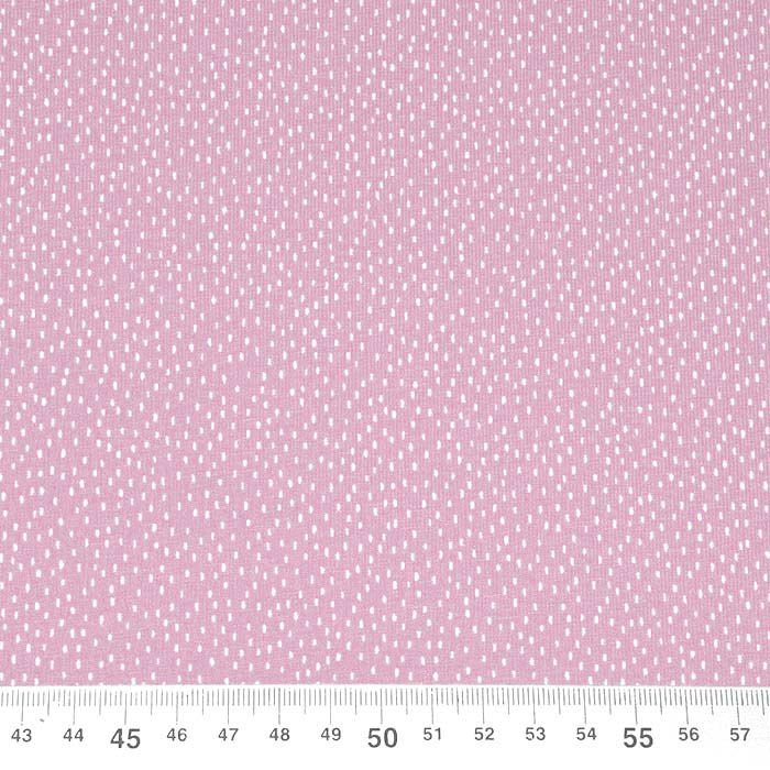 Jersey, bombaž, pikice, 23812-12, roza