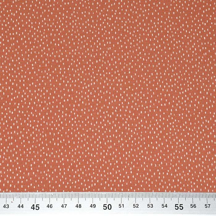 Jersey, bombaž, pikice, 23812-13, opečna