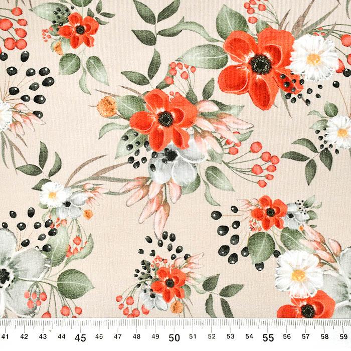 Prevešana, digital, cvetlični, 23824-23