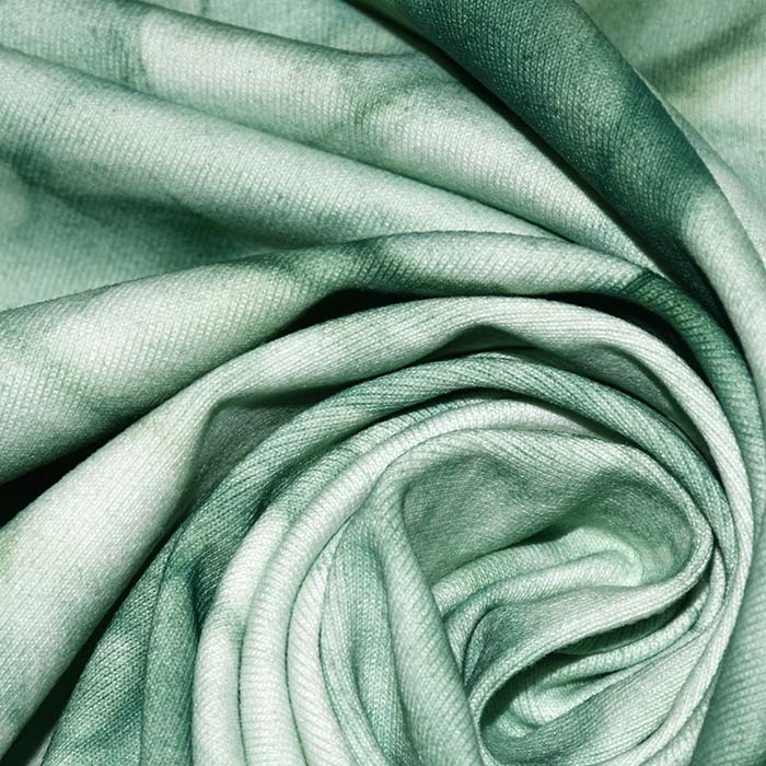 Poliamid, elastan, mat, tie-dye, 23850-5, mint