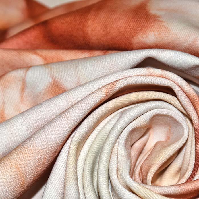 Poliamid, elastan, mat, tie-dye, 23850-10, marelica