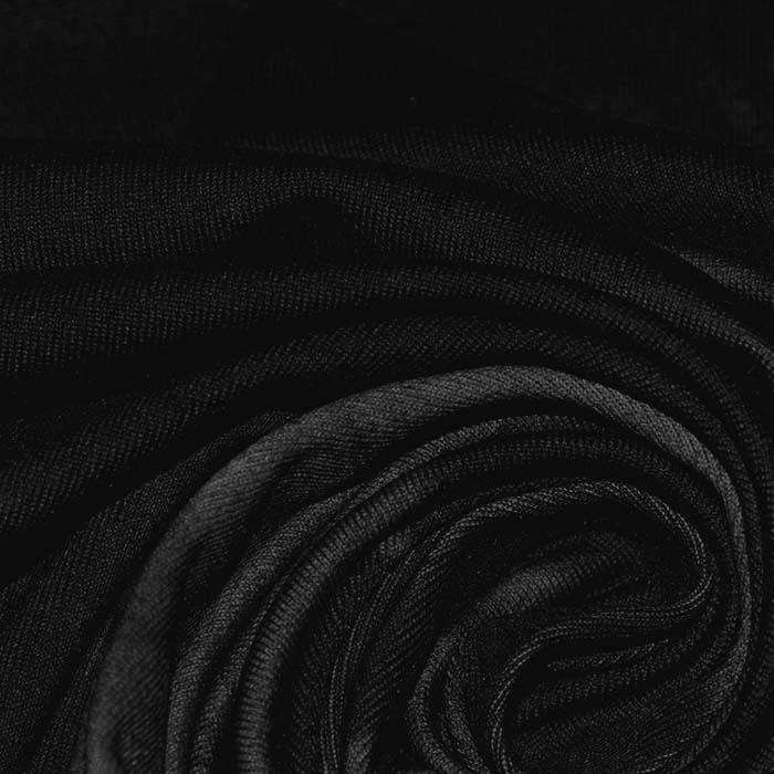 Poliamid, elastan, mat, tie-dye, 23850-2, črna