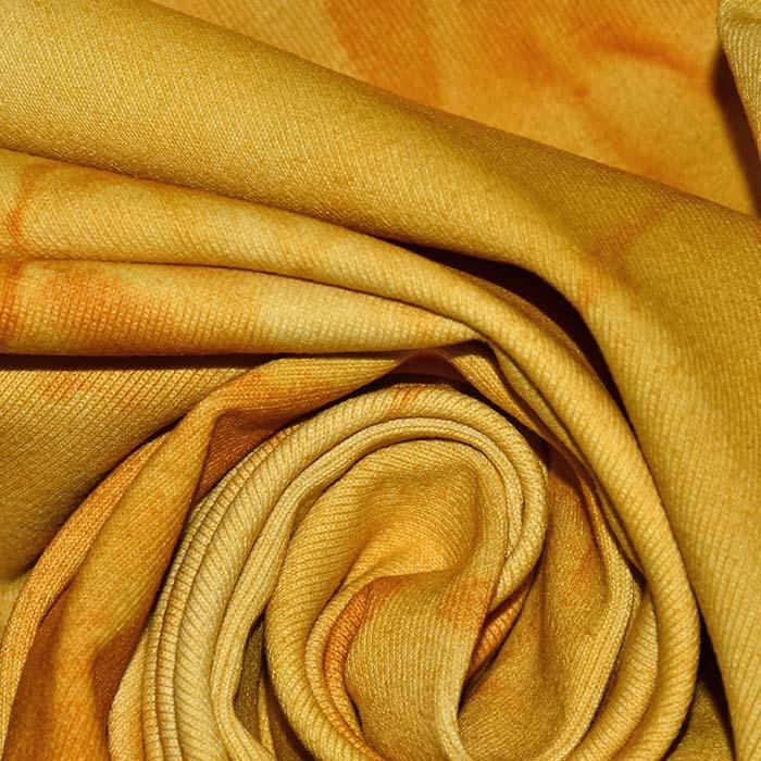 Poliamid, elastan, mat, tie-dye, 23850-11, oker