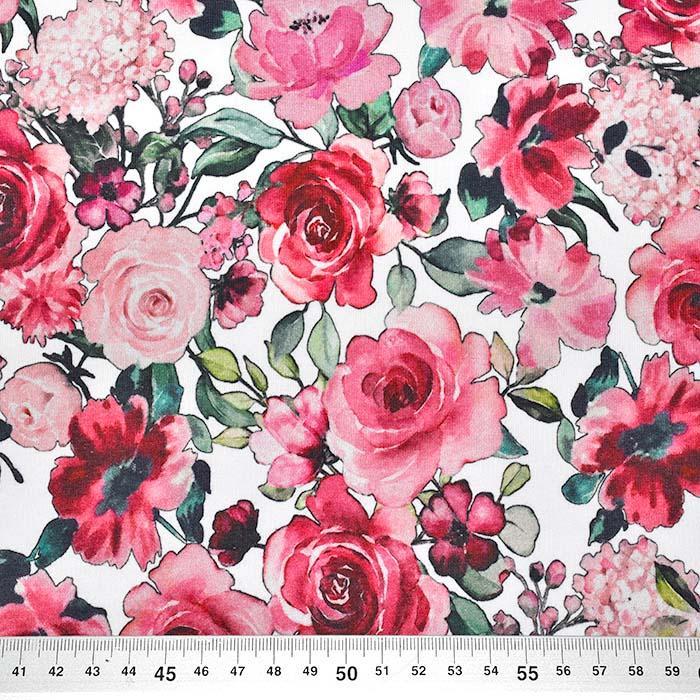 Prevešanka, kosmatena, cvetlični, 23881-002, bela