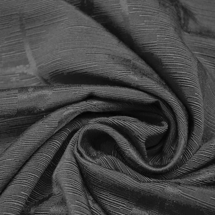 Otoman, žakard, 4146-145, temno siva