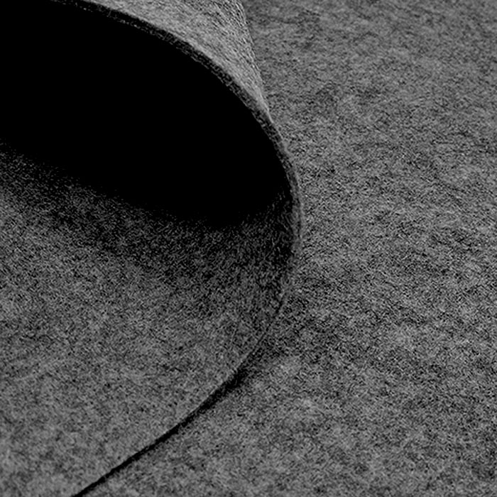 Filc 2 mm, poliester, 4892-66, siva