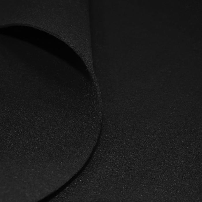 Filc 3 mm, poliester, 4893-69, črna