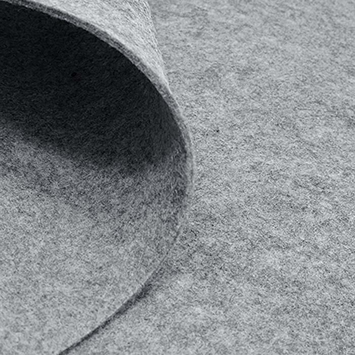 Filc 3 mm, poliester, 4893-65, svetlo siva