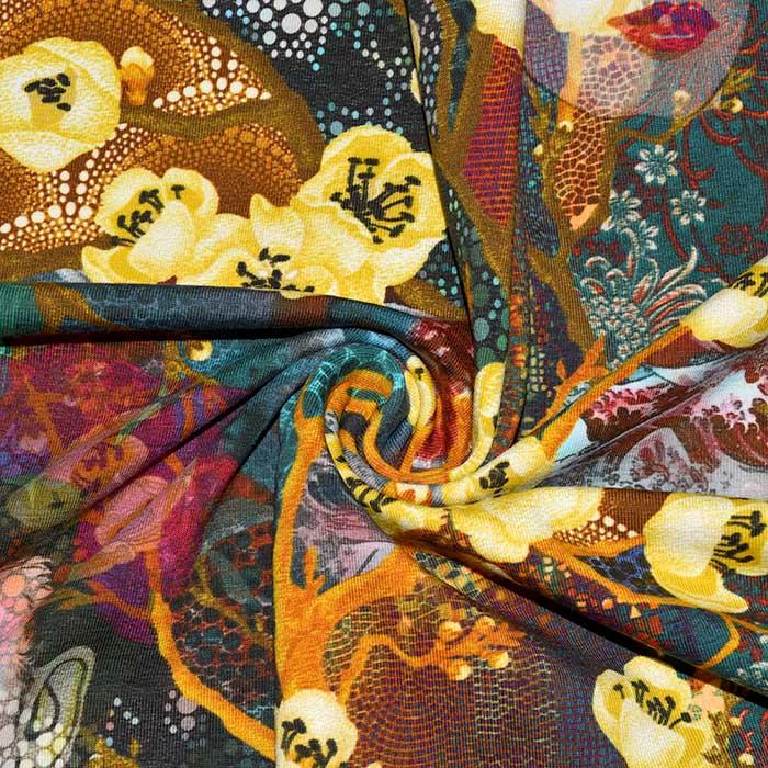 Jersey, bombaž, digital, Frida Kahlo, 23903