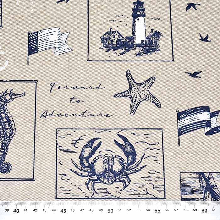 Deko, tisk, morski, 23998-1904