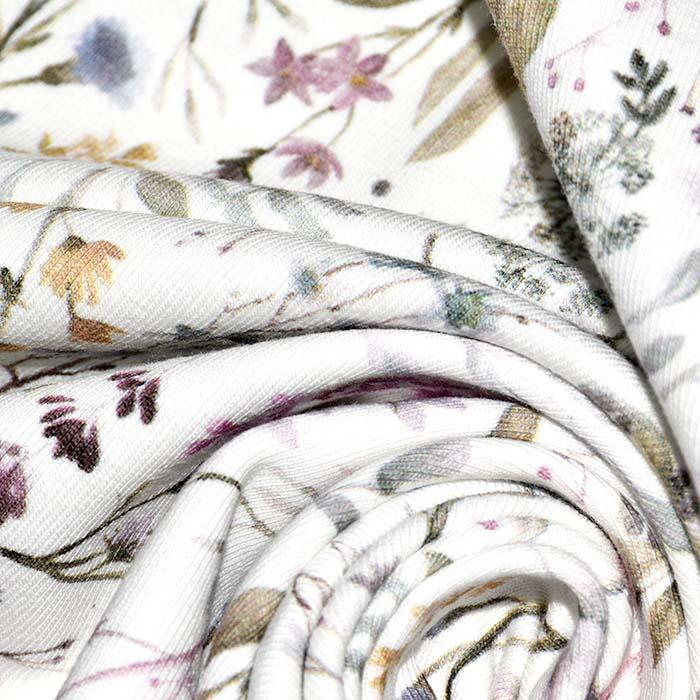 Jersey, bombaž, cvetlični, 24058-051