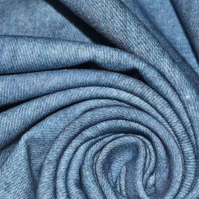 Jersey, bombaž, jeans, 22733-006, modra