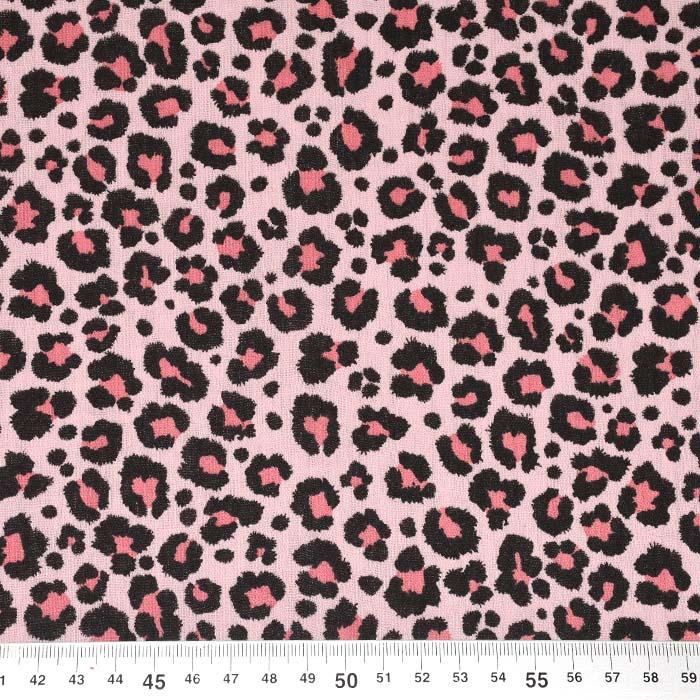 Tetra tkanina, dvojna, živalski, 24175-013, roza