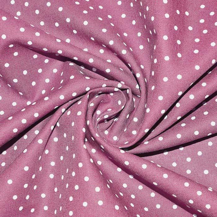 Bombaž, poplin, pike, 24139-014, roza