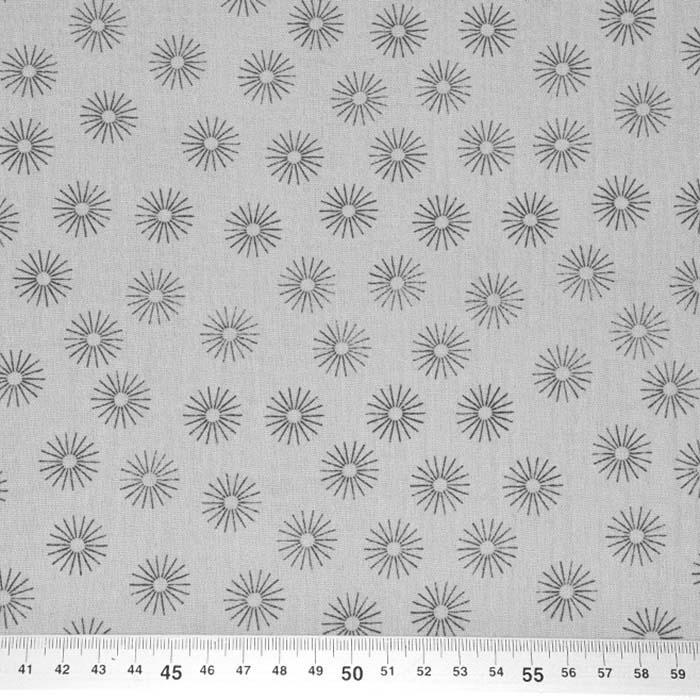 Tetra tkanina, dvojna, pike, 24239-061, siva