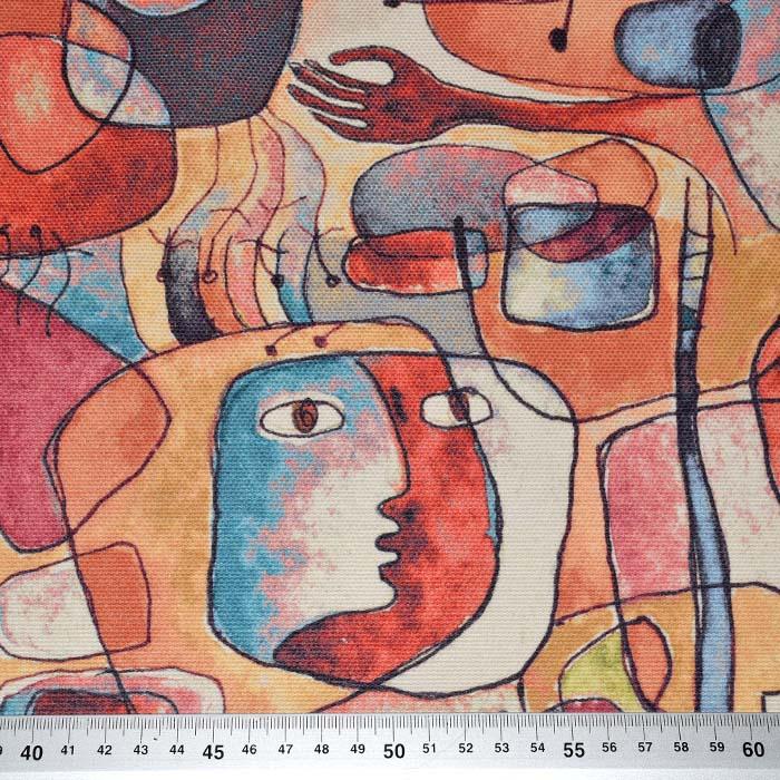 Deko, tisk, digital, abstraktni, 24261-09