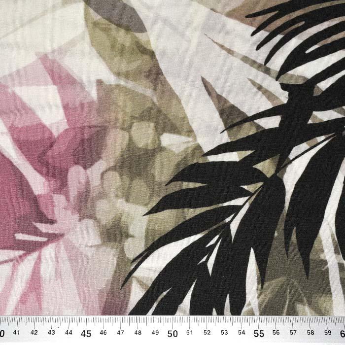Jersey, viskoza, digital, cvetlični, 24303-41