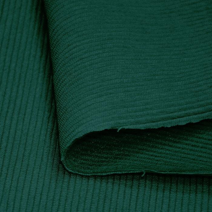 Pletivo, bombaž, rebrasto, 19310-200, zelena