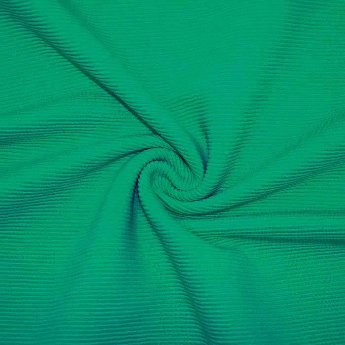 Pletivo, bombaž, rebrasto, 19310-309, zelena