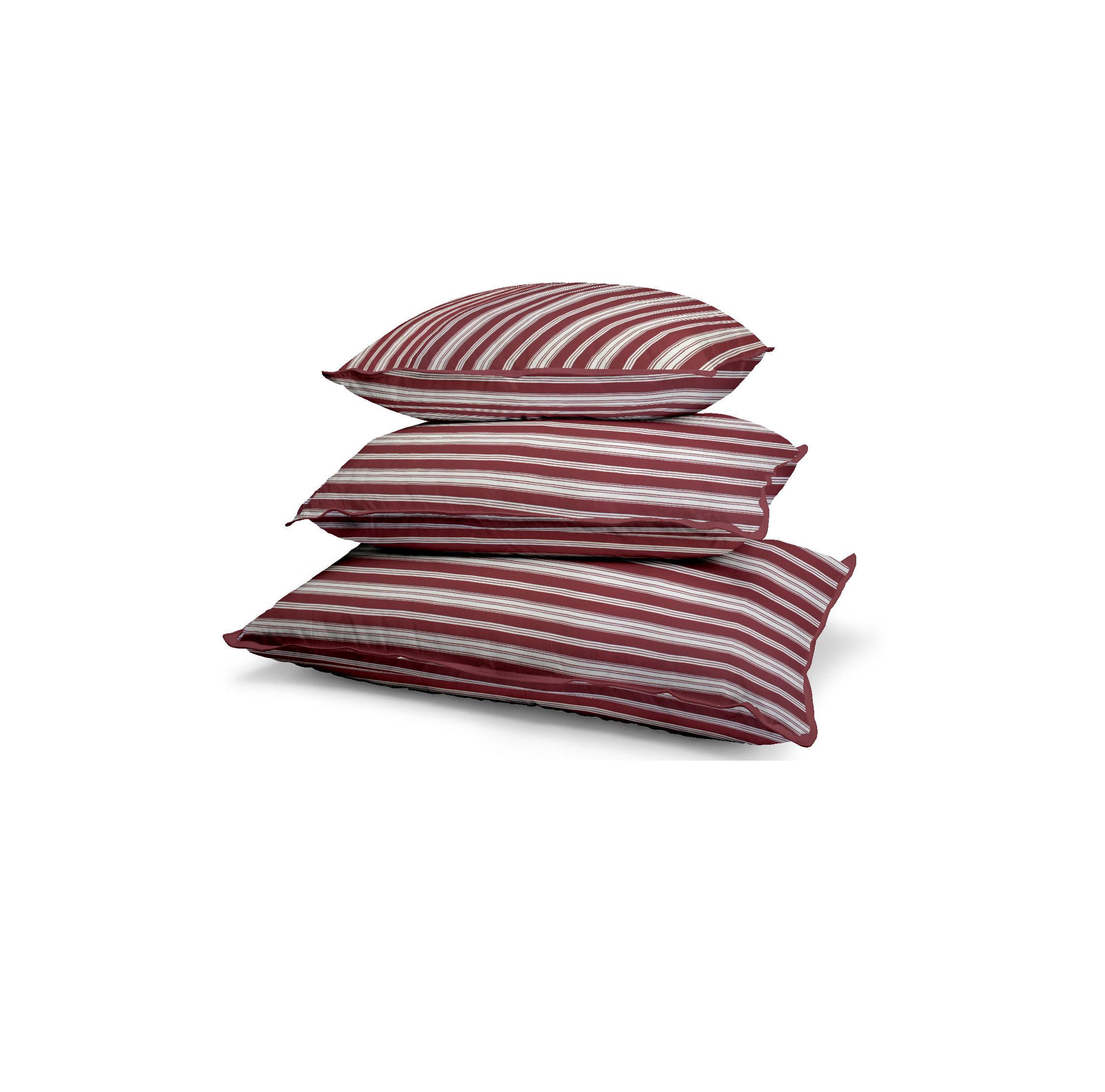 Deko tisak, crvene prugice, 11882