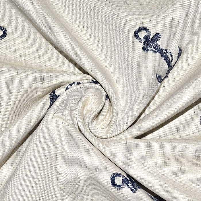 Deko žakard, obojestranski, morski, 24323