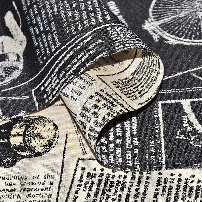 Deko žakard, obojestranski, časopis, 24325
