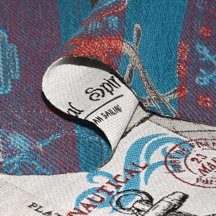 Deko žakard, morski, 24338