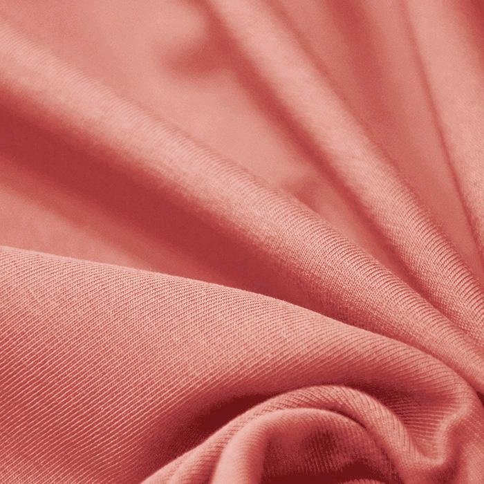 Jersey, Baumwolle, 13335-62, orange-rosa