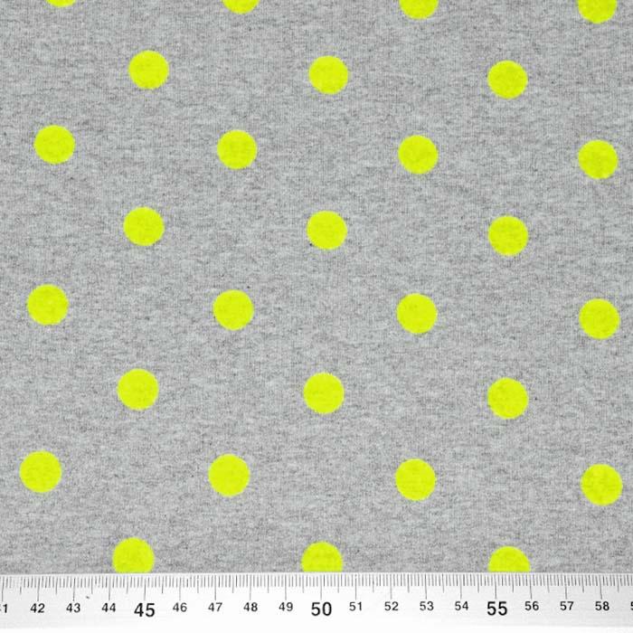 Prevešanka, pike, flock tisk, 25202-6, zelena