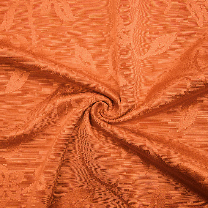 Otoman, žakard, 4146-108, oranžna
