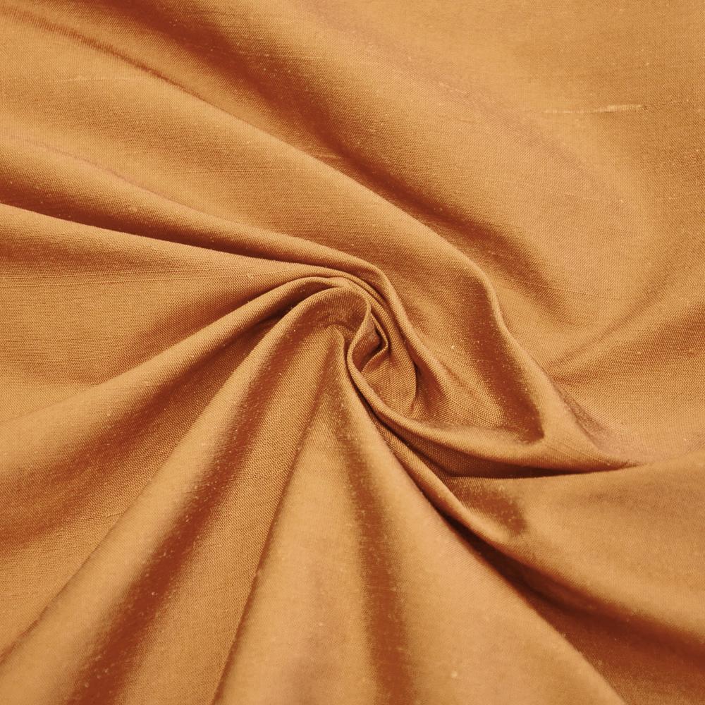 Svila, šantung, 3956-14, zlata
