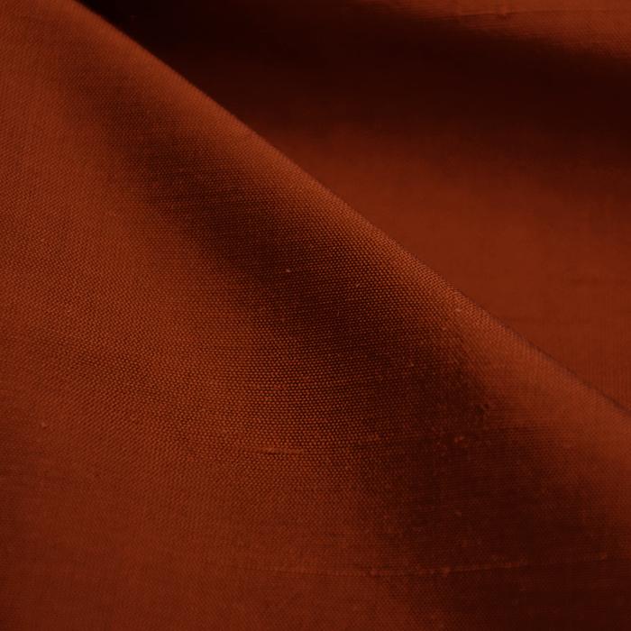 Svila, šantung 023_3956-53 opečna