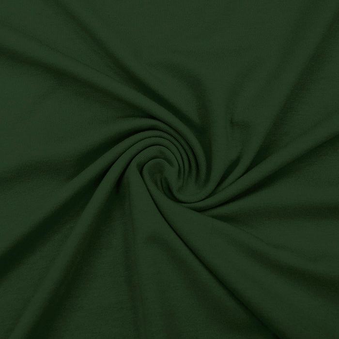 Jersey, viskoza, luxe, 12961-928, temno zelena