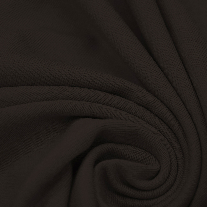 Jersey, viskoza, luxe, 12961-510, temno rjava