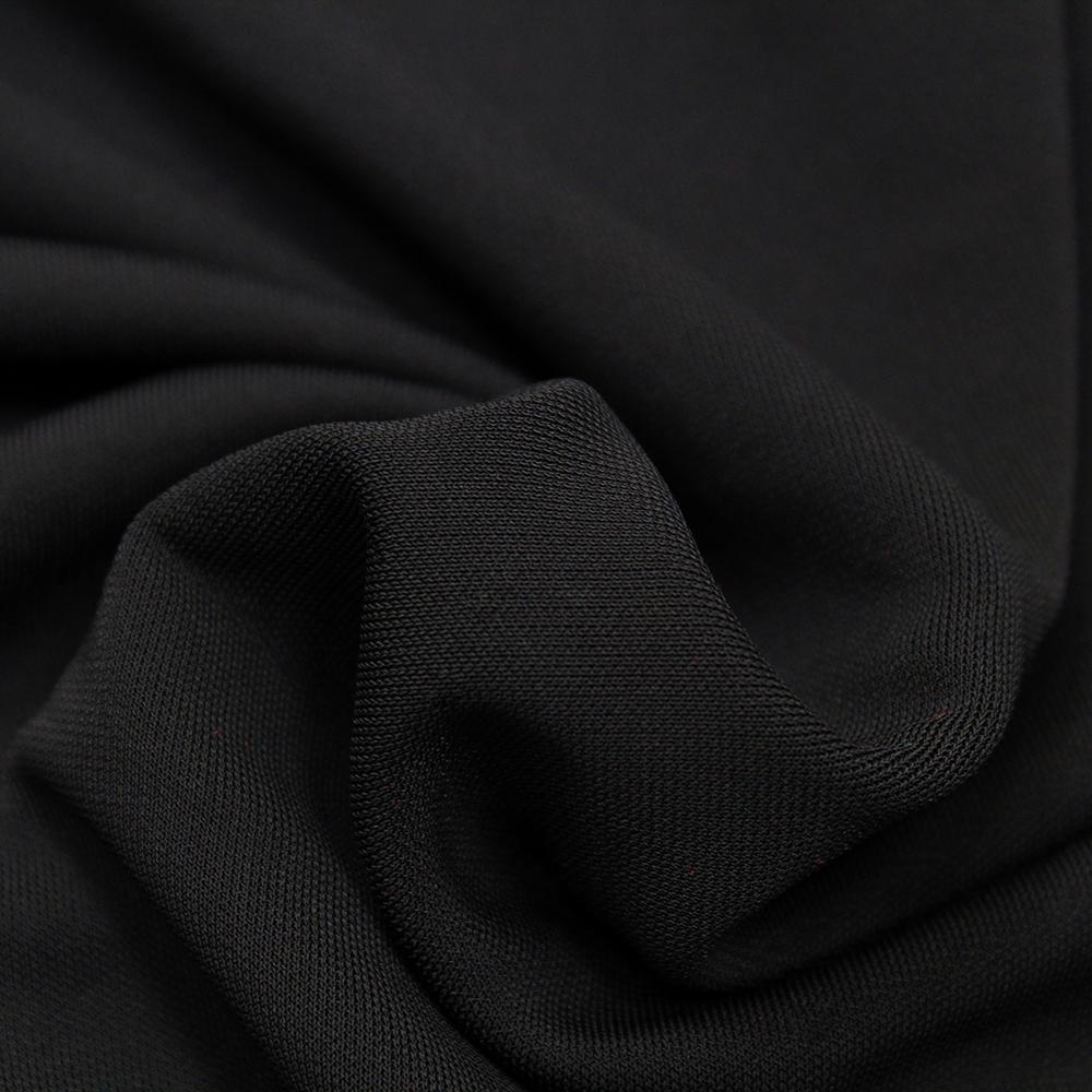 Jersey, viskoza, filamentna, 12966-5, črna
