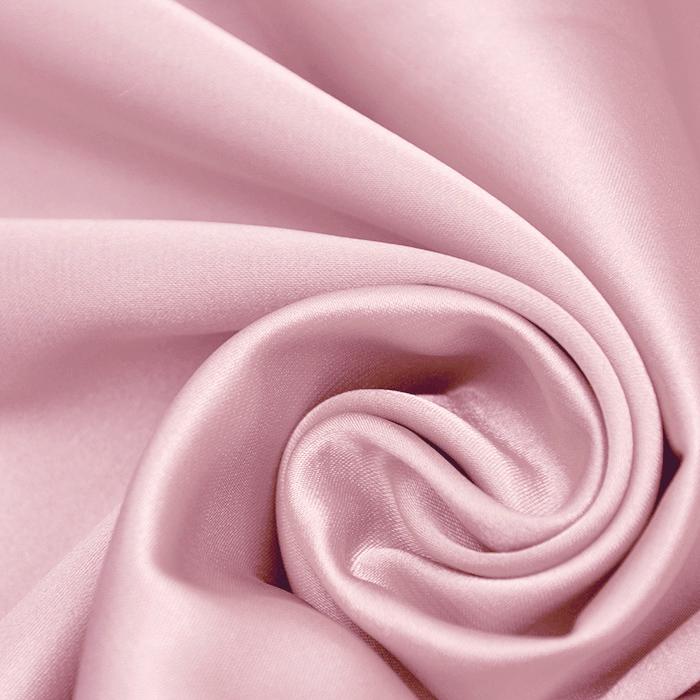 Saten, poliester, 3093-4A, roza