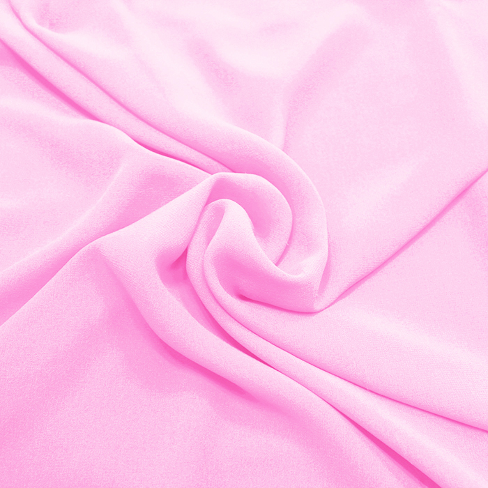 Šifon, poliester, 4143-6, roza