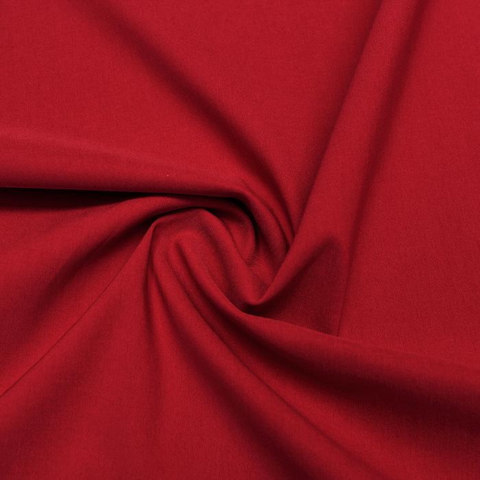 Bengalin, elastična tkanina, 13067-215, rdeča