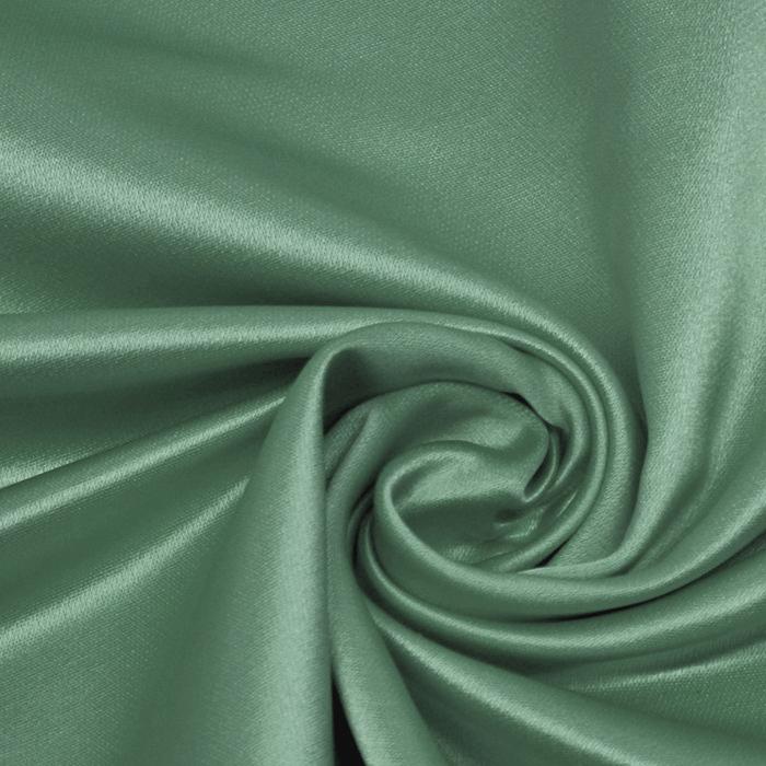 Damast saten, Minerva, 13141-08, zelena