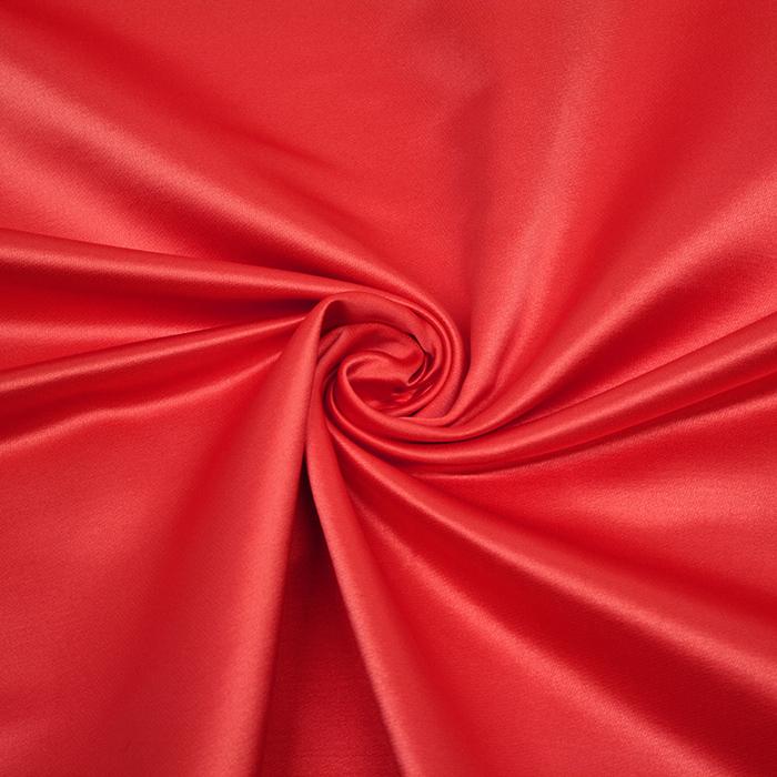 Damast saten, Minerva, 13141-26, rdeča