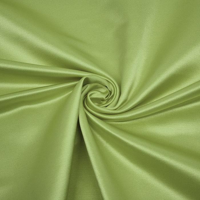 Damast saten, Minerva, 13141-51, zelena