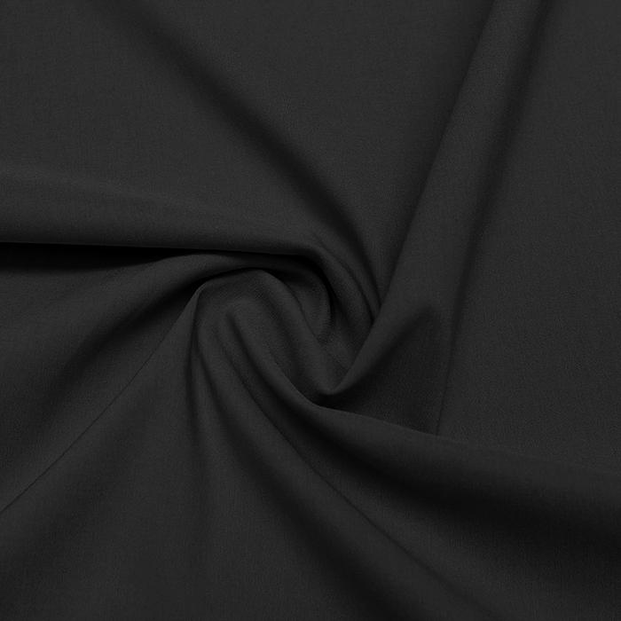 Bengalin, elastična tkanina, 13067-268, temno siva