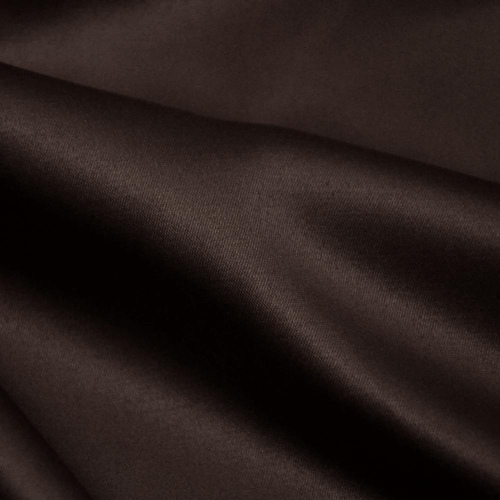 Saten, bombaž, poliester, 19_13157-16 temno rjava