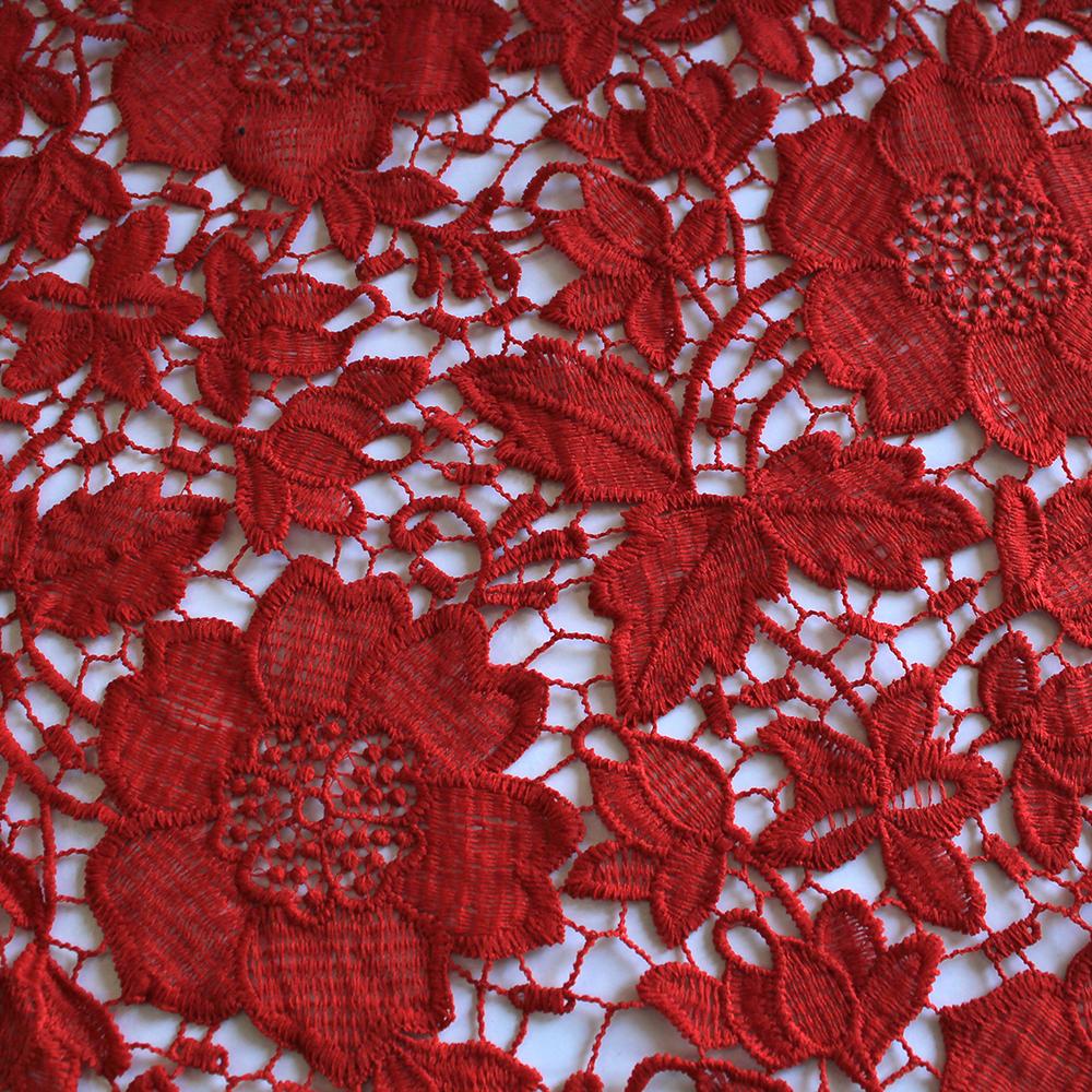 Čipka, 13485-9, rdeča