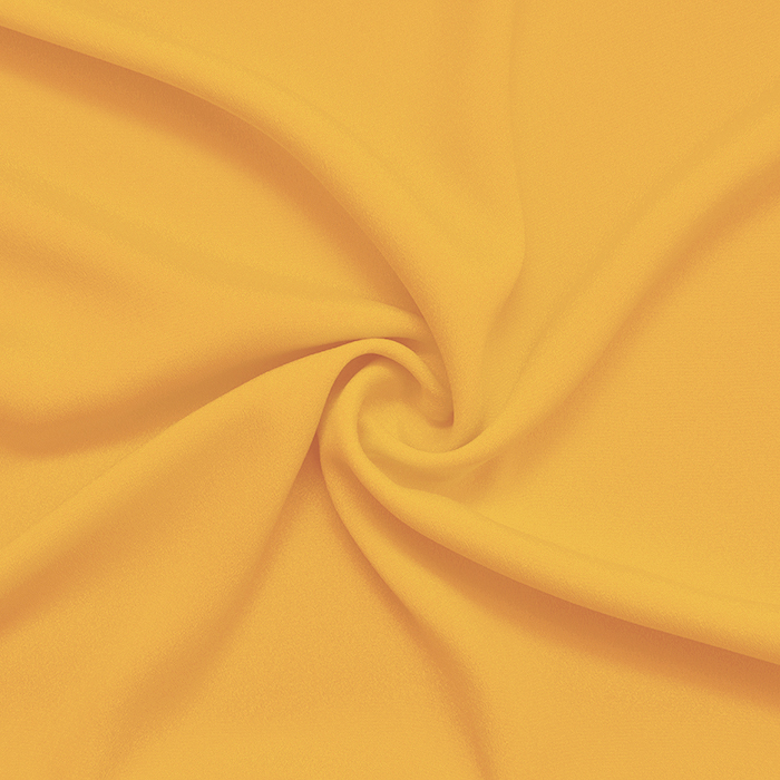 Šifon krep, poliester, 13176-53, žuta