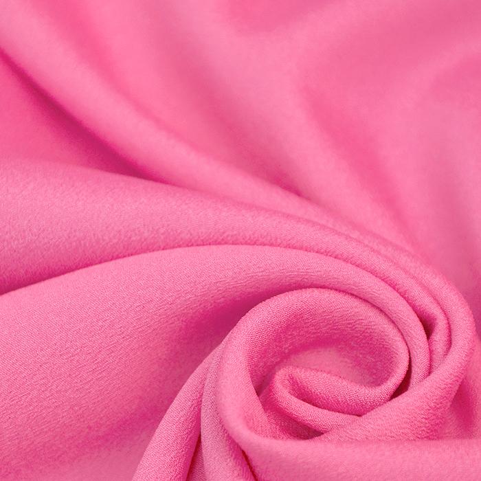 Šifon krep, poliester, 13176-22 roza