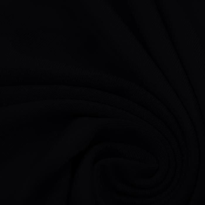 Jersey, viskoza, 13337-23, črna